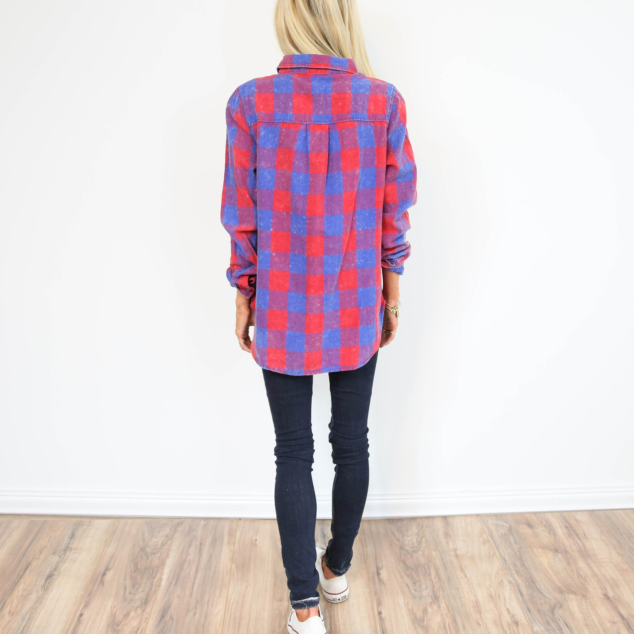 Ceri Worn Plaid