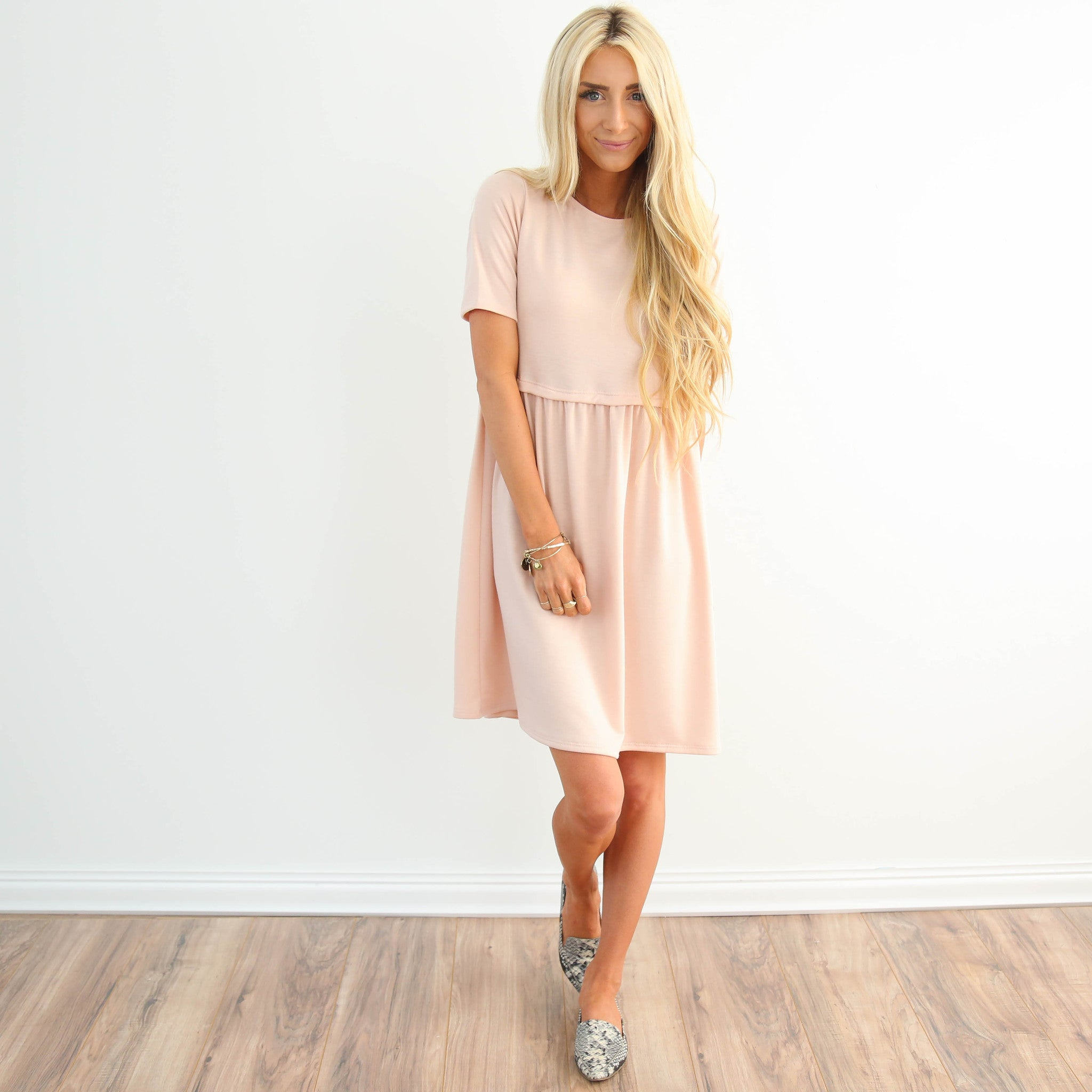 Soph Baby Doll in Blush