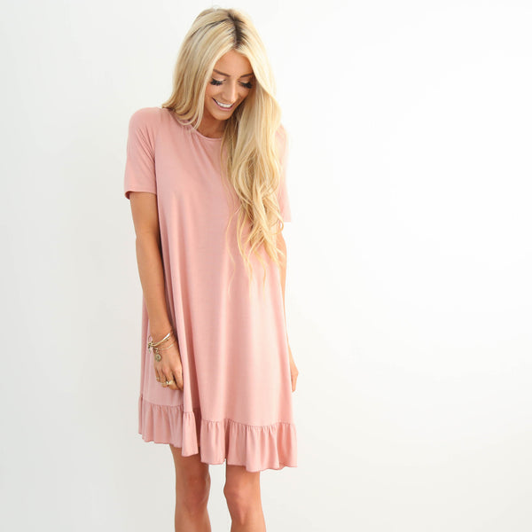 S & Co. Melody Dress in Dusty Coral
