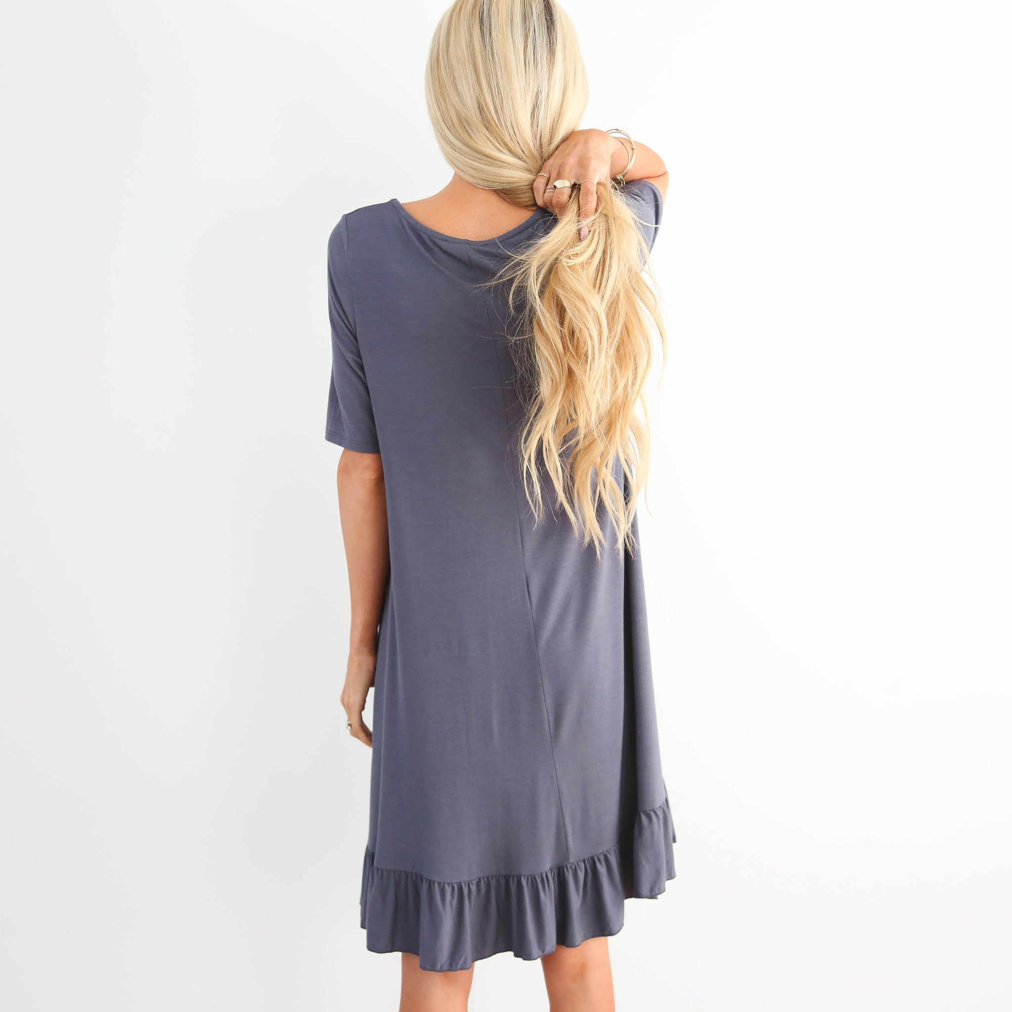 S & Co. Melody Dress in Charcoal