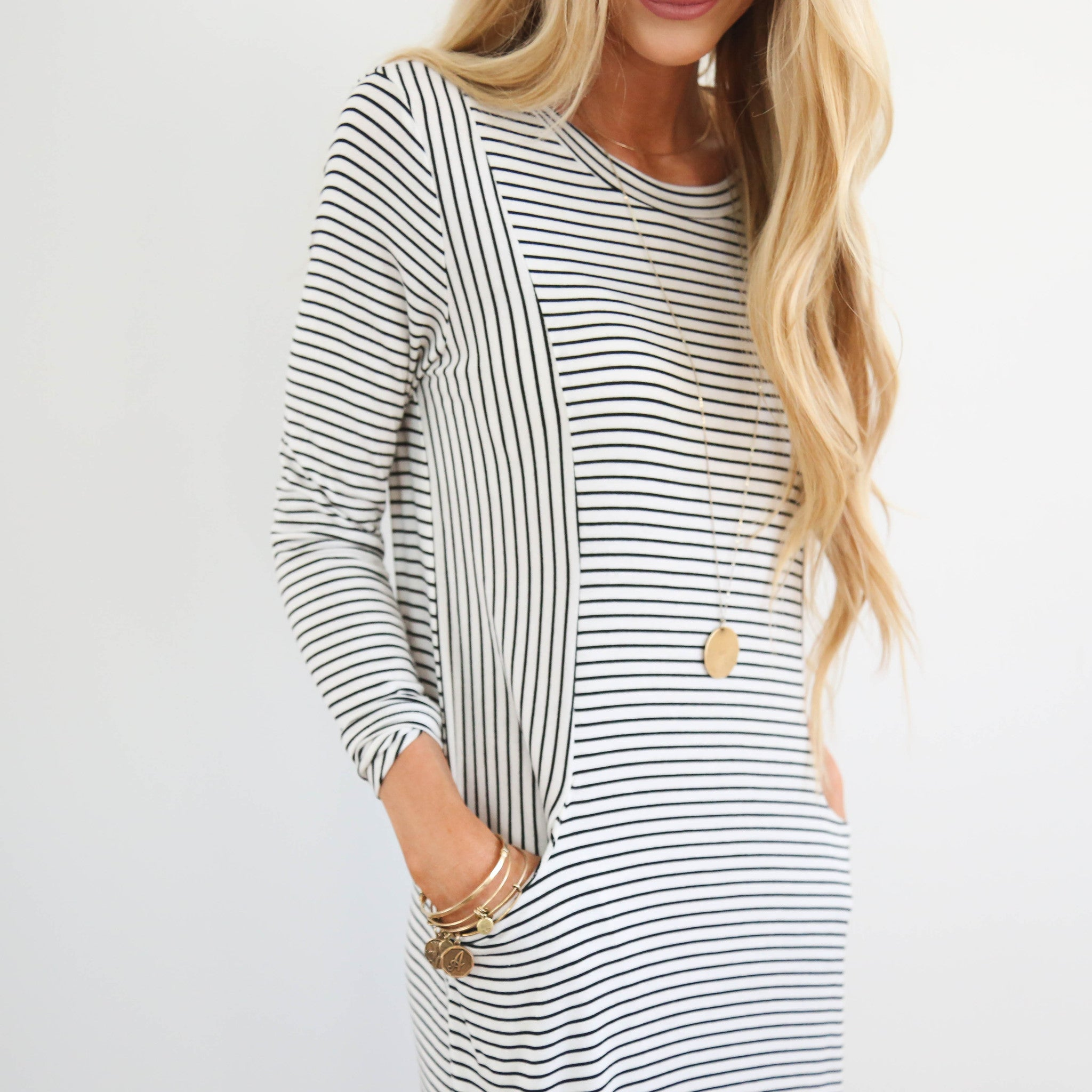 Sydney Stripe Dress