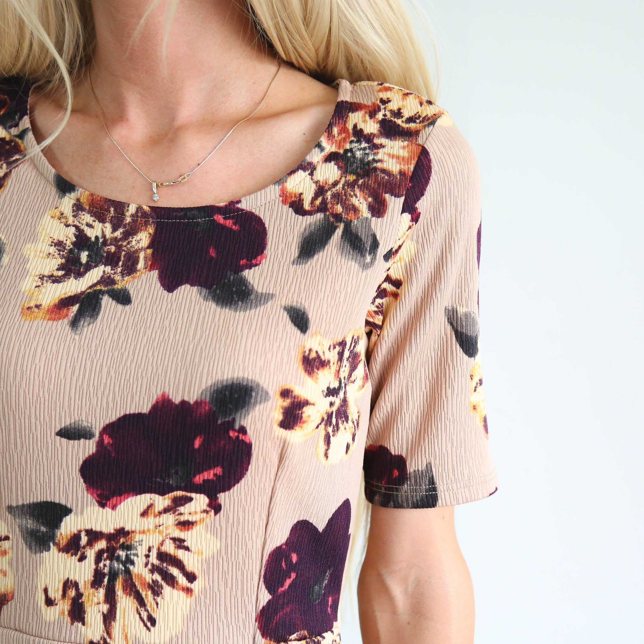 S & Co. Marinet Floral Dress