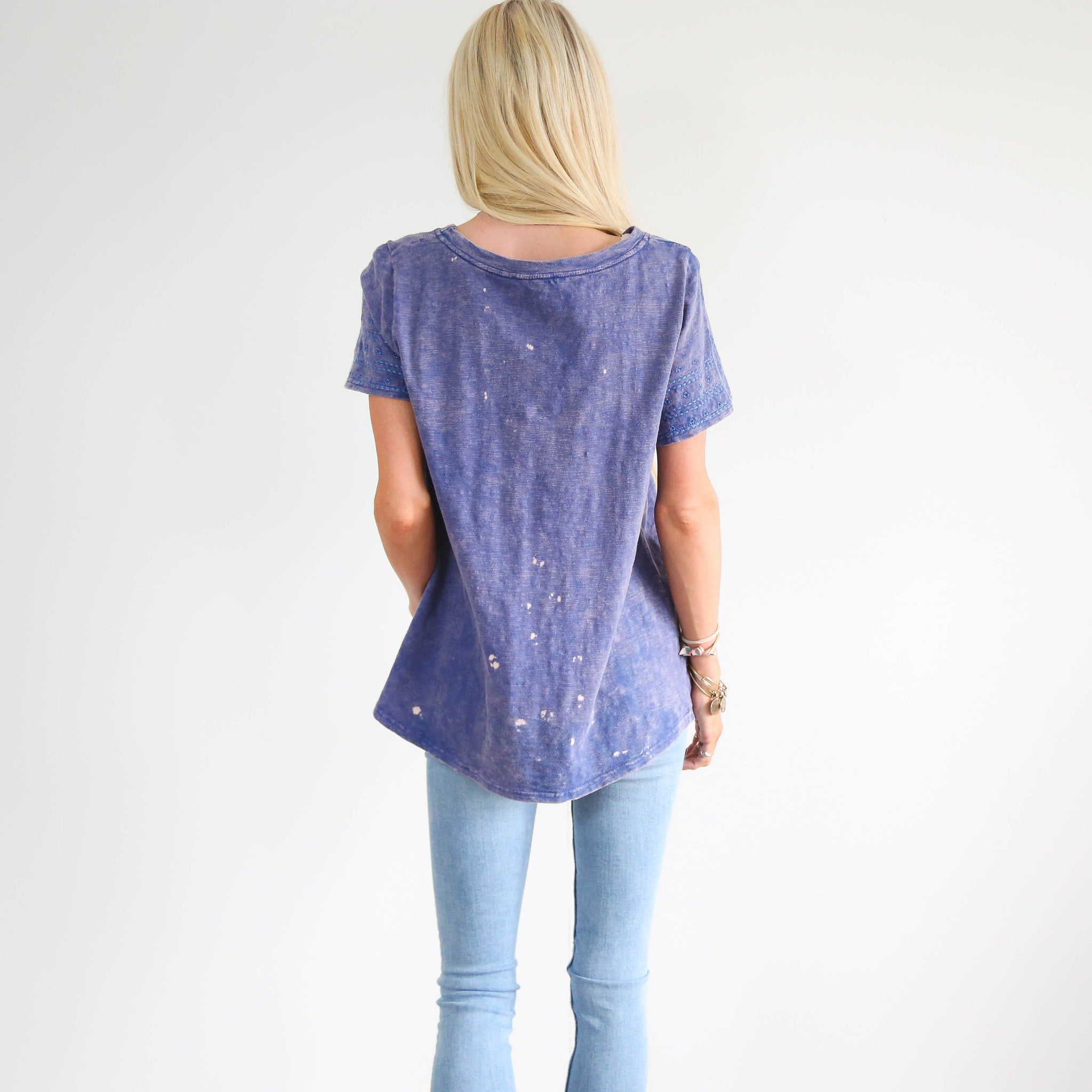 Paige Embroidered Top