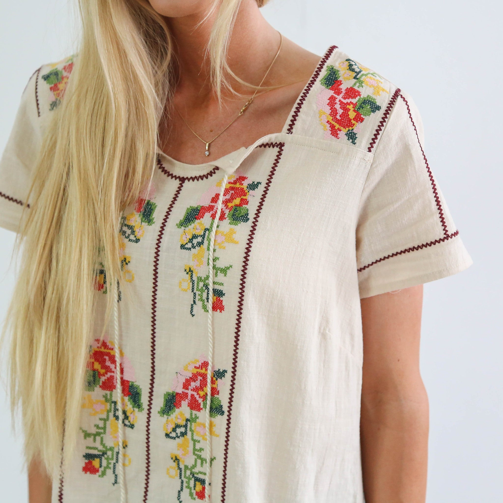 Petulia Embroidered Tunic