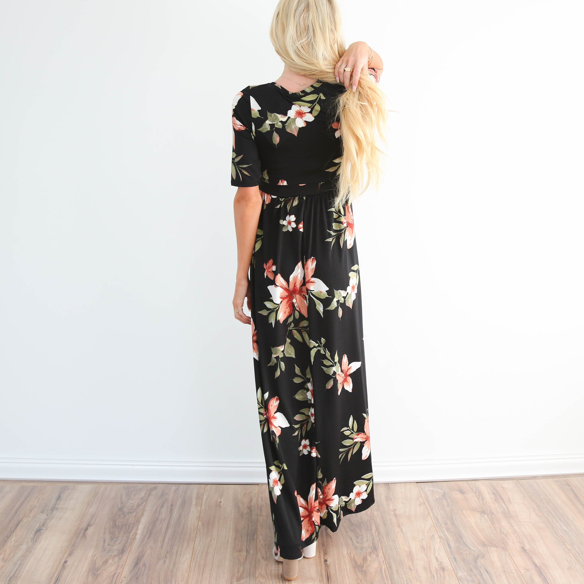 Rae Flower Maxi Dress