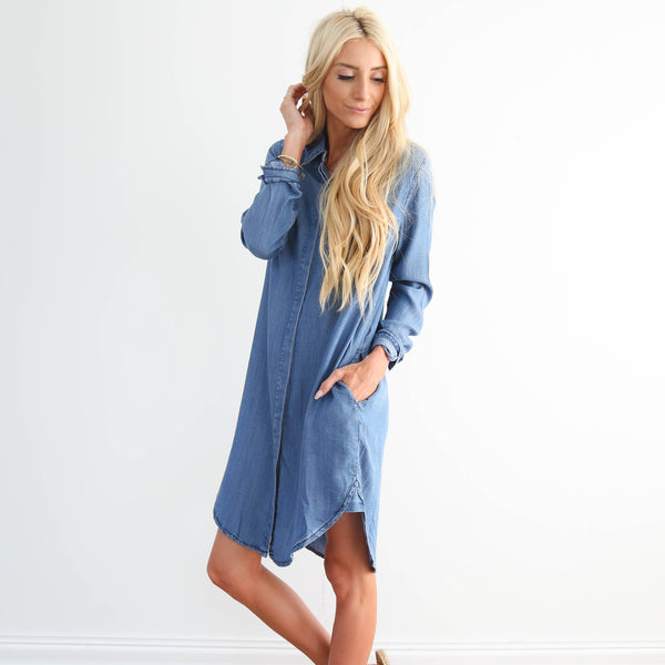Vera Denim Dress
