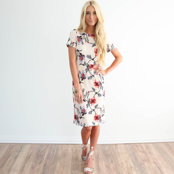 S & Co. Brynn Floral Dress