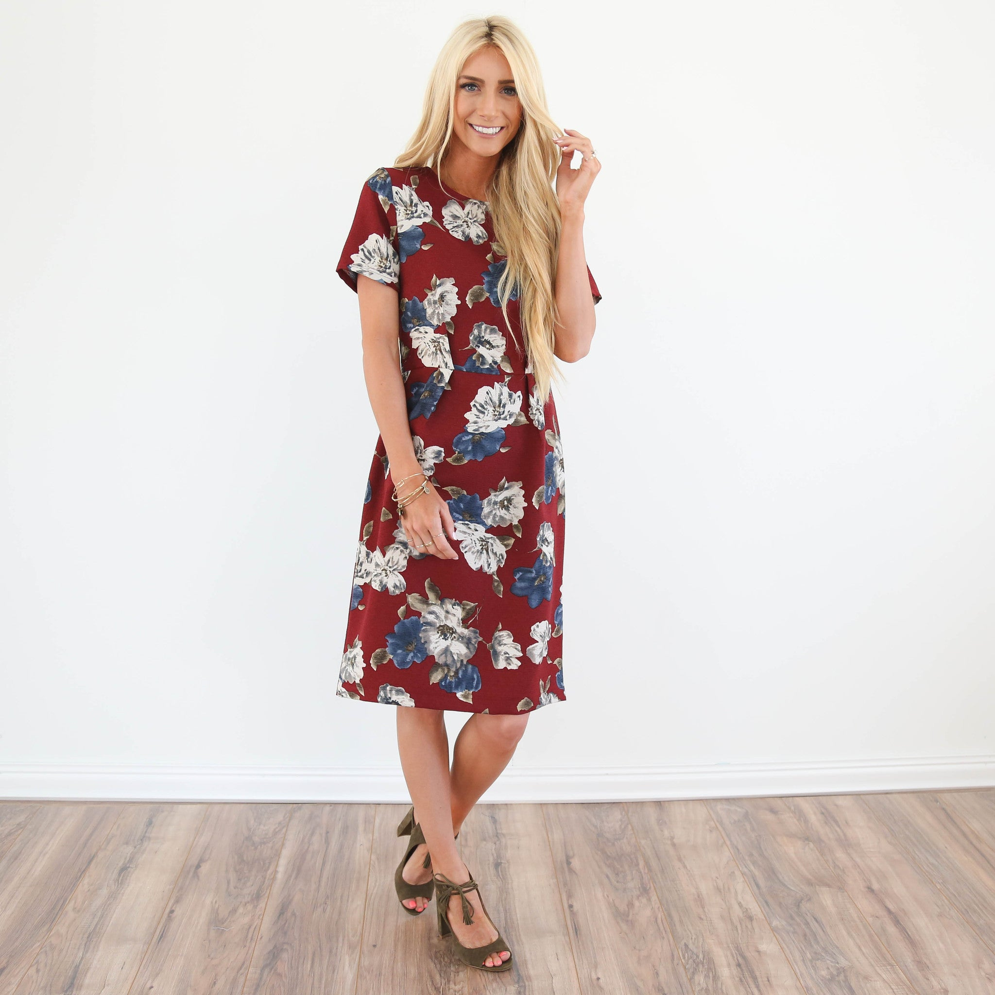S & Co. Georgia Floral Dress