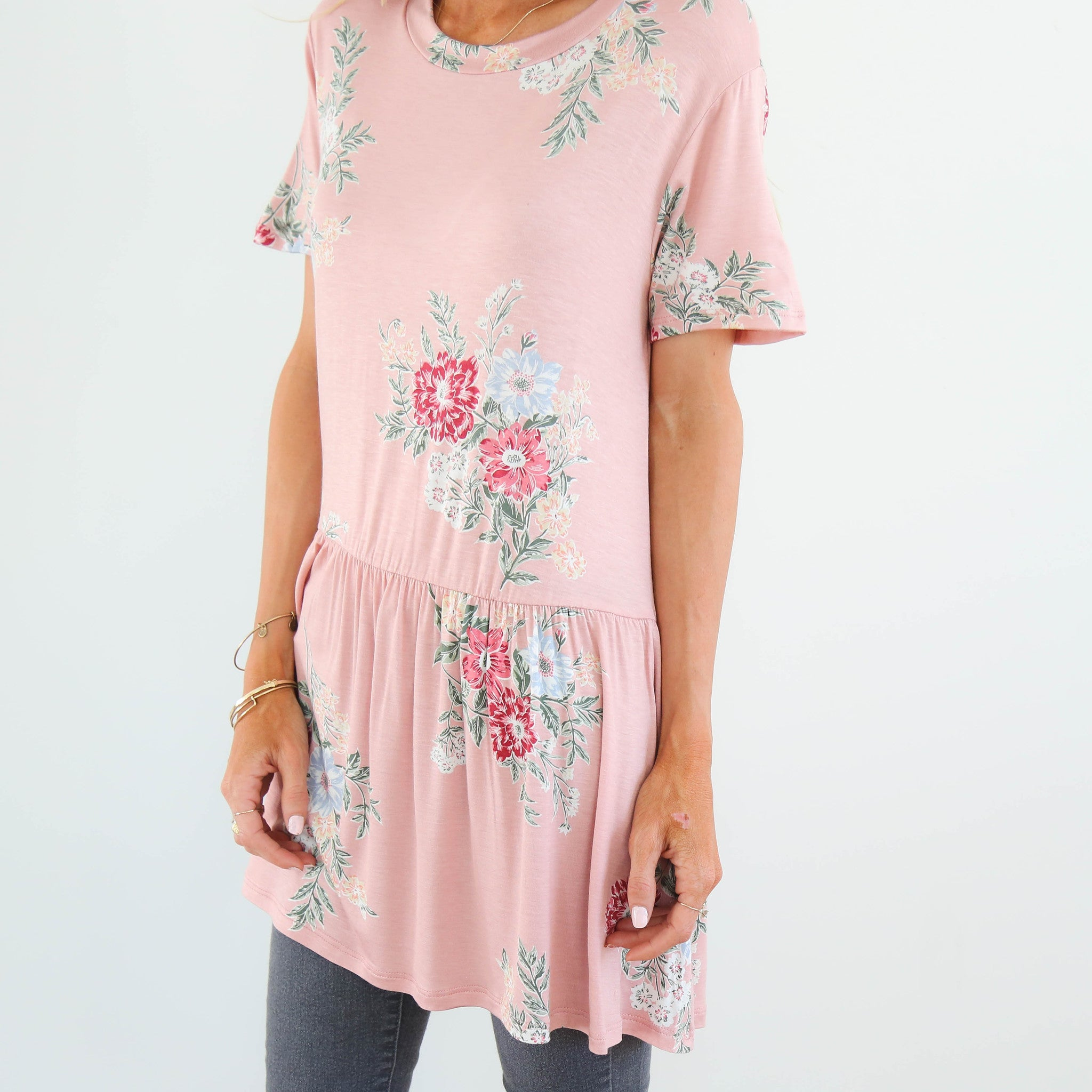 Liesel Flowers Top