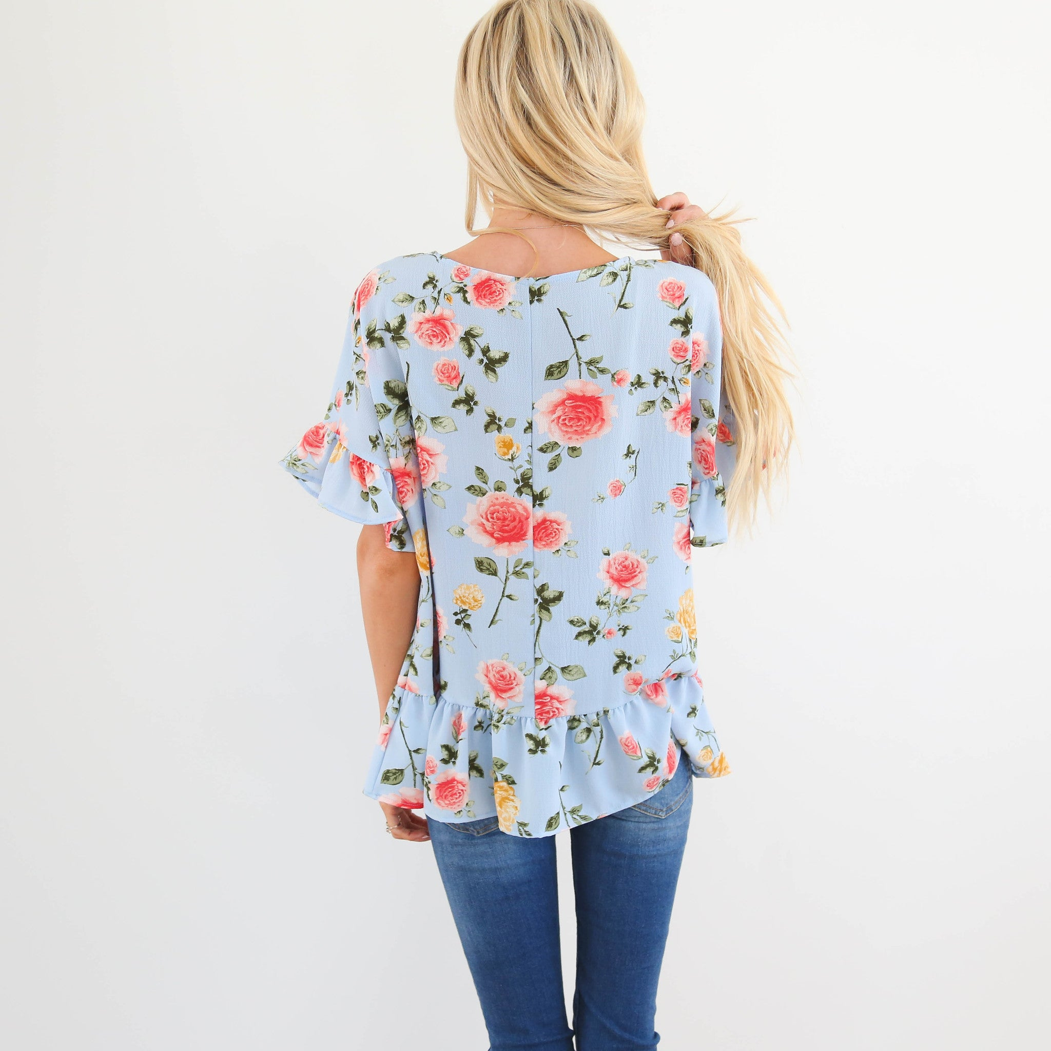 Morning Blooms Top