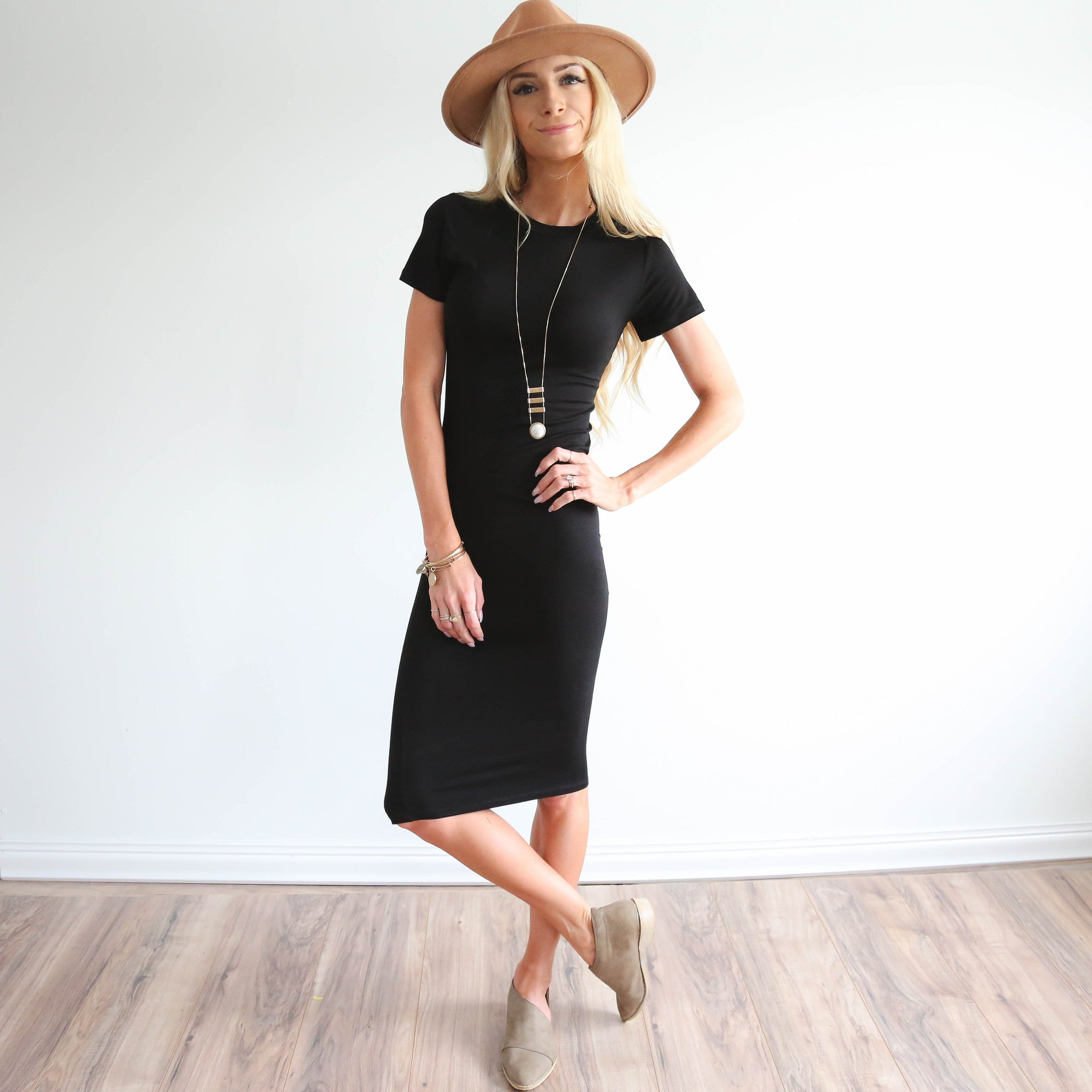 Easy Black Dress