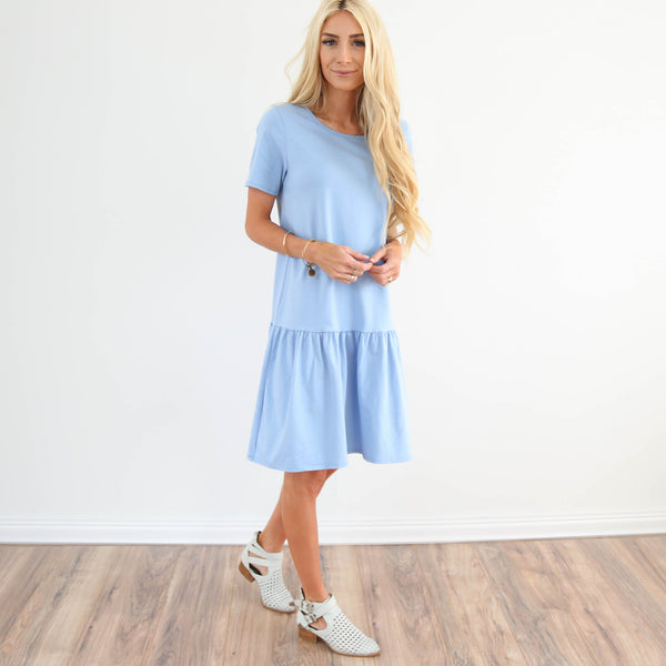 S & Co. Baby Blue Dress