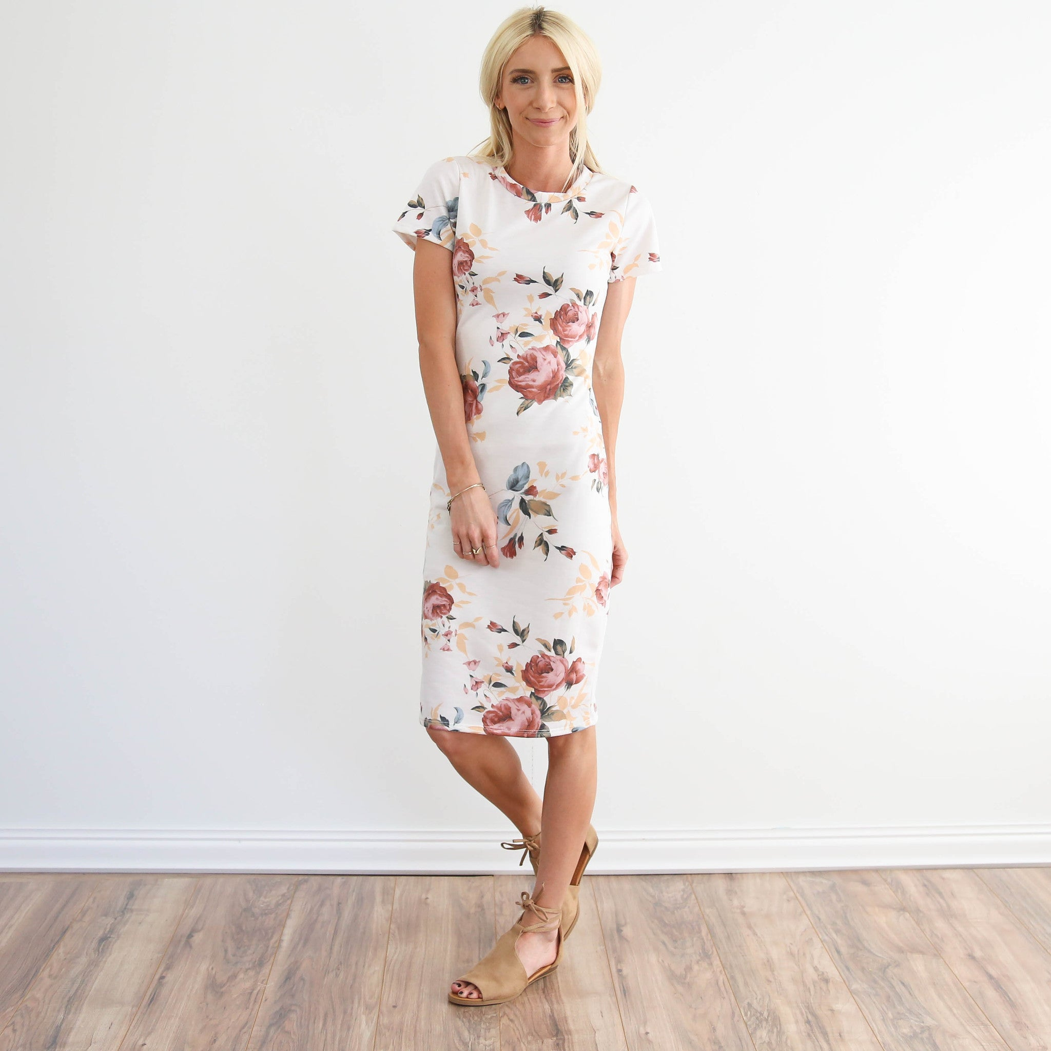 Sadie Printed Dress
