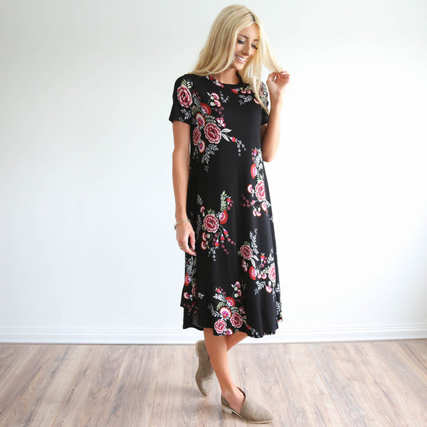 Maye Flower Dress
