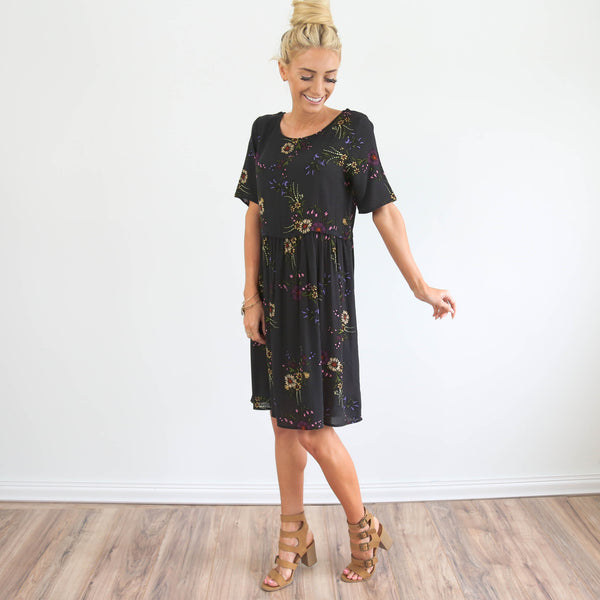 Malerie Flower Dress