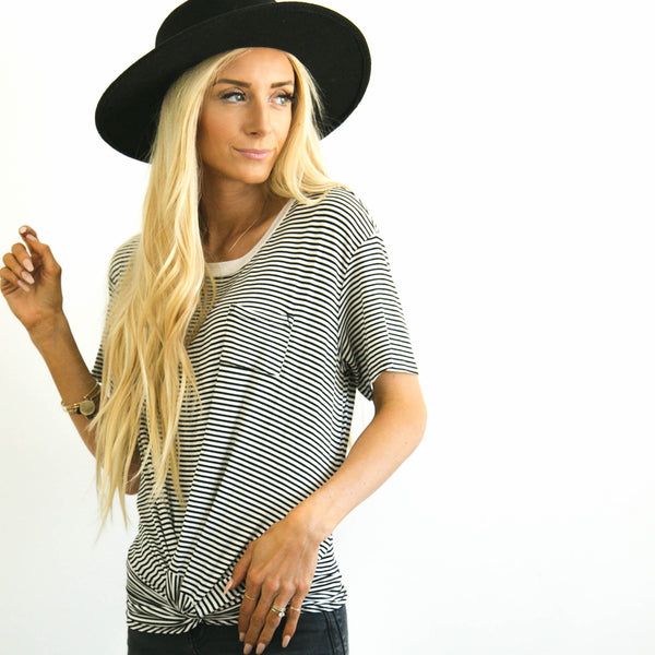 Camila Stripe Top