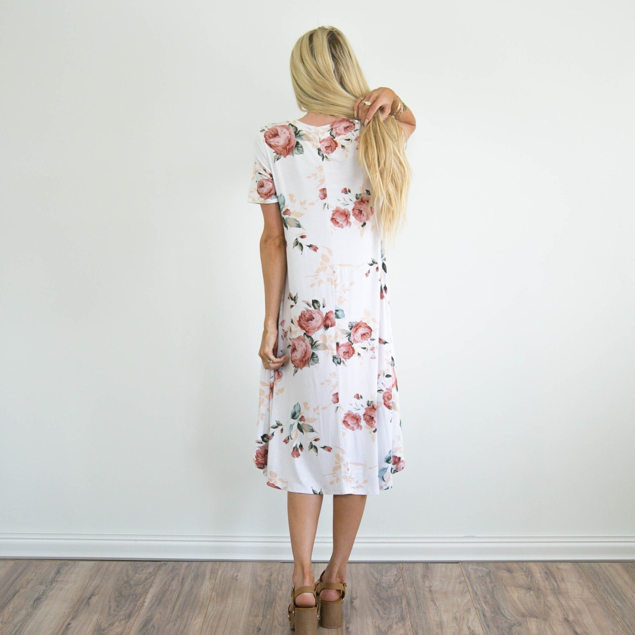 S & Co. Lillie Dress in Ivory