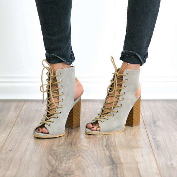 Elina Lace Up Sandal
