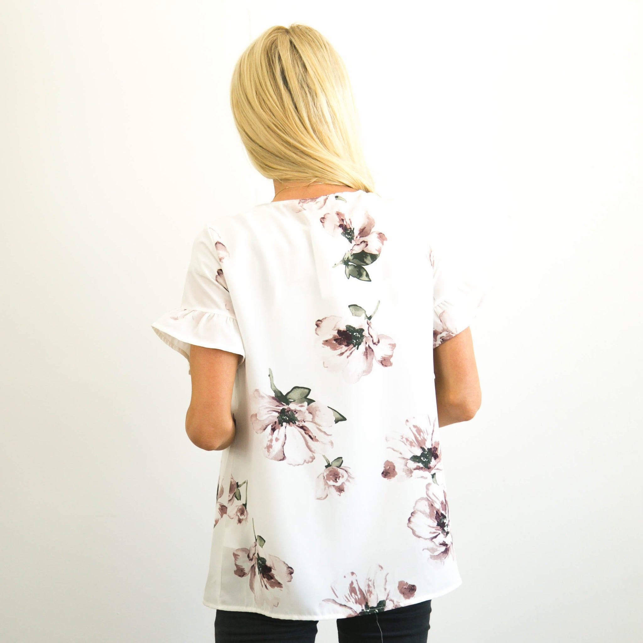 S & Co. Shawna Flower Top