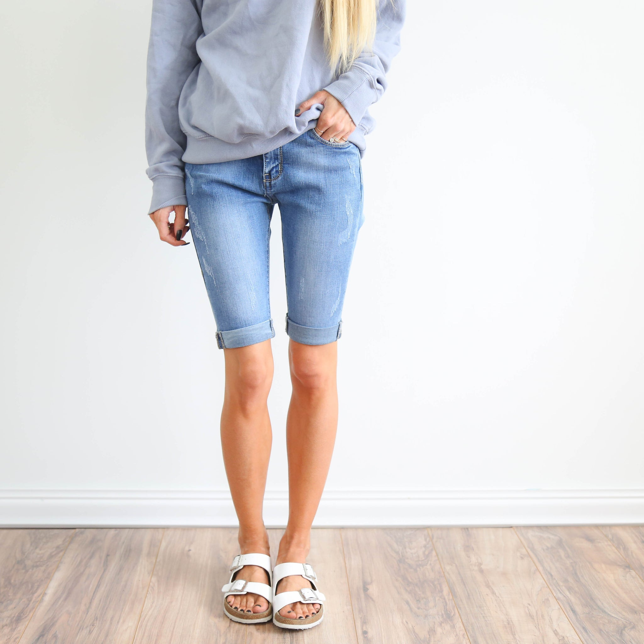 Luna Denim Shorts