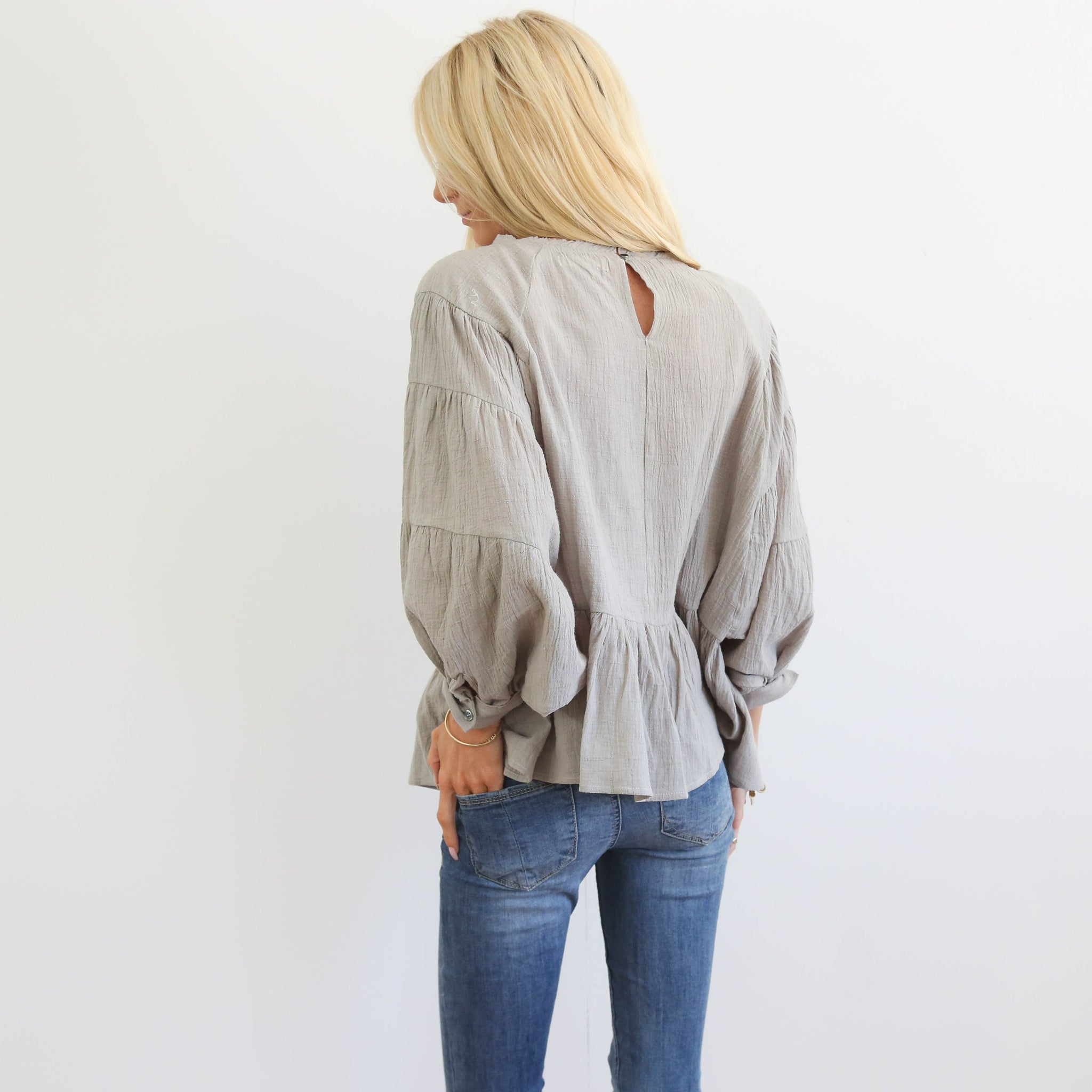 Bellamy Linen Top