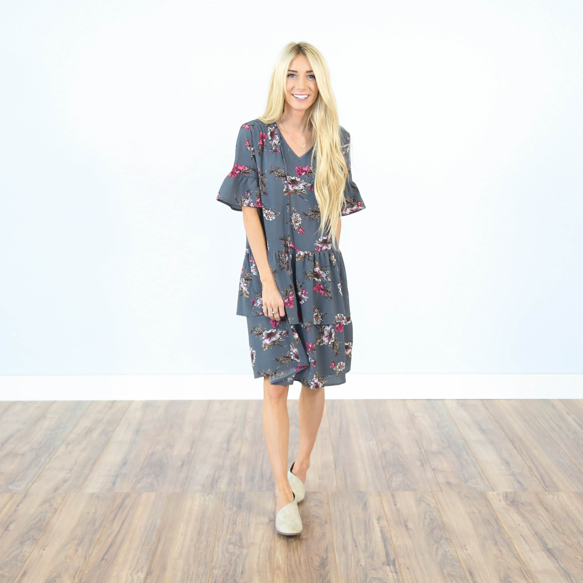 Rebeccah Printed Dress
