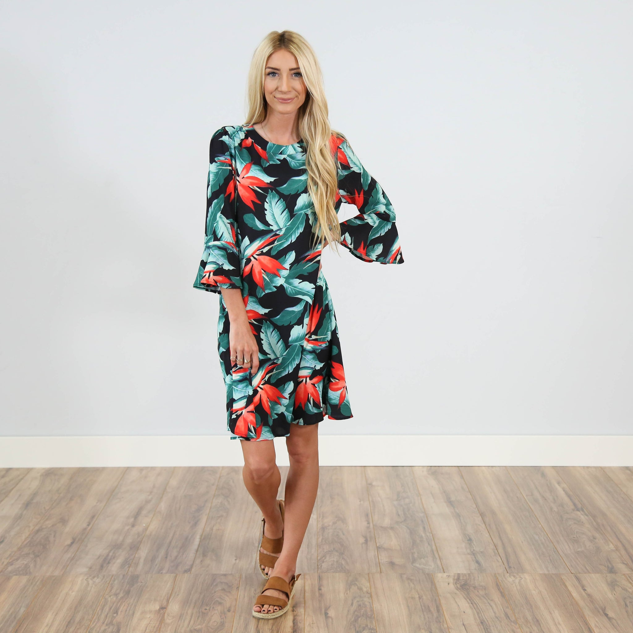 Aloha Printed Dress