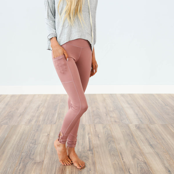 Dusty Rose Active Legging