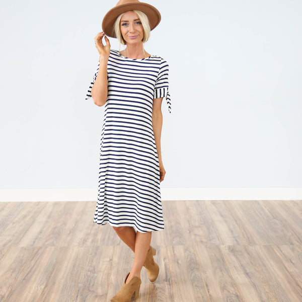 Sailor Striped Dress