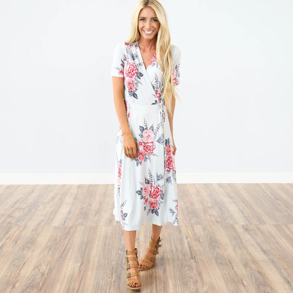 Carola Wrap Dress