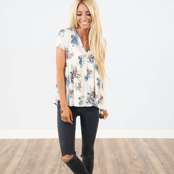Sierra Printed Top