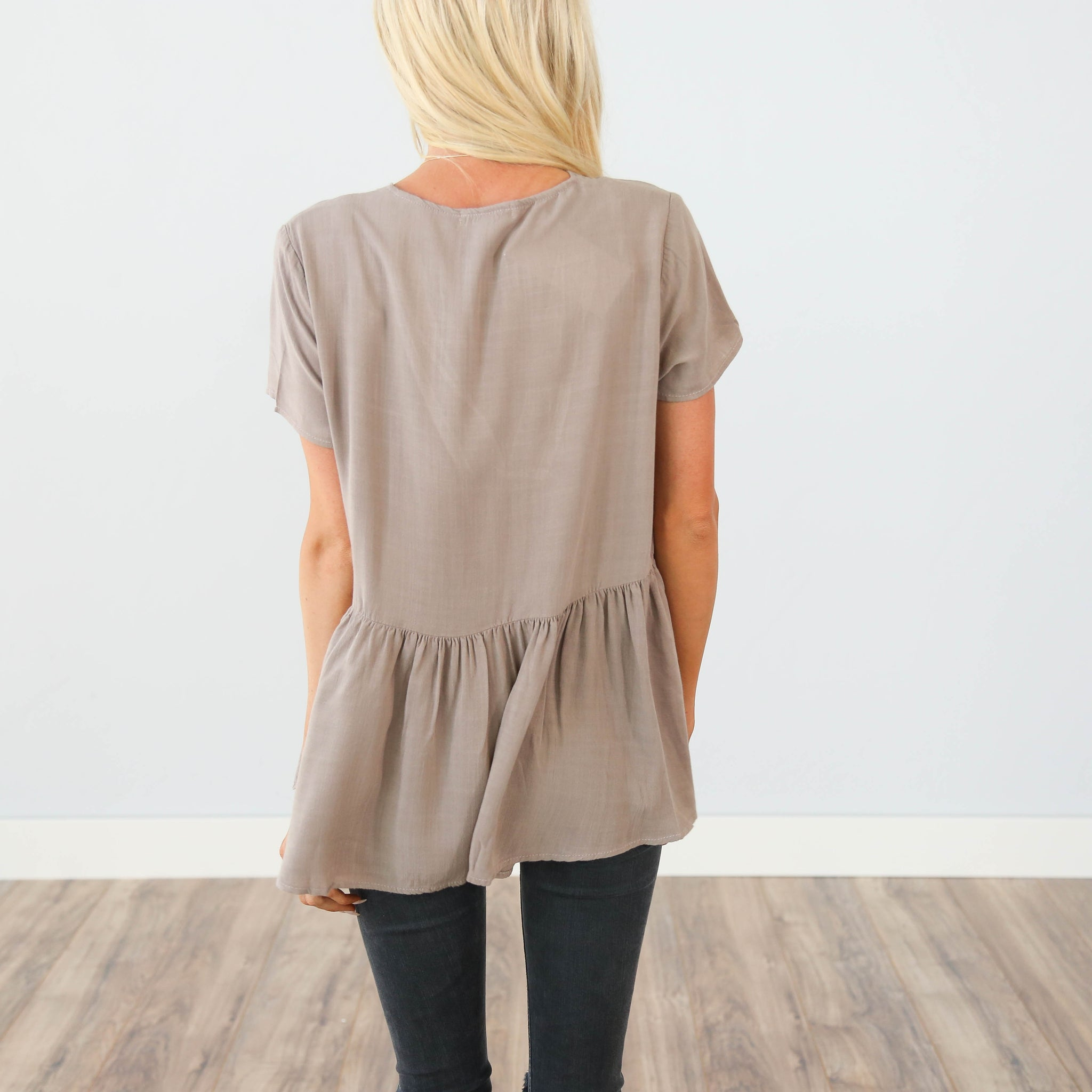 Ari Peplum Top