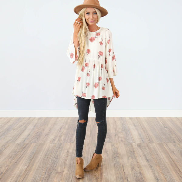 Valencia Printed Top