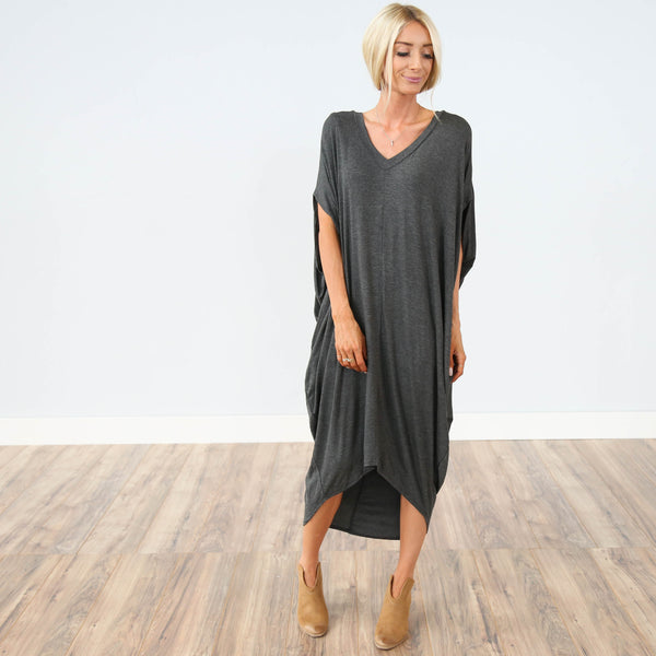 Somerset Charcoal Dress