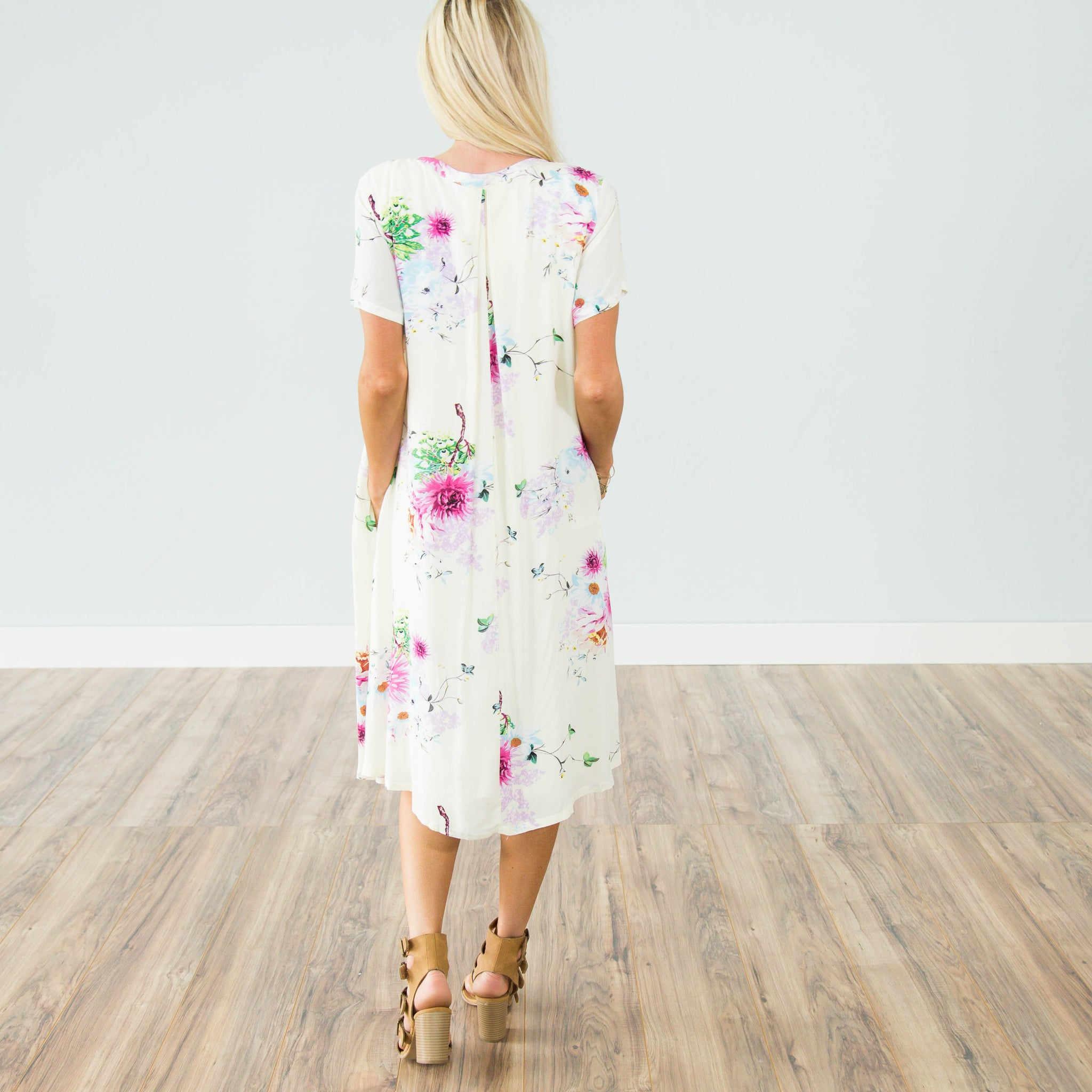 Wayside Floral Dress