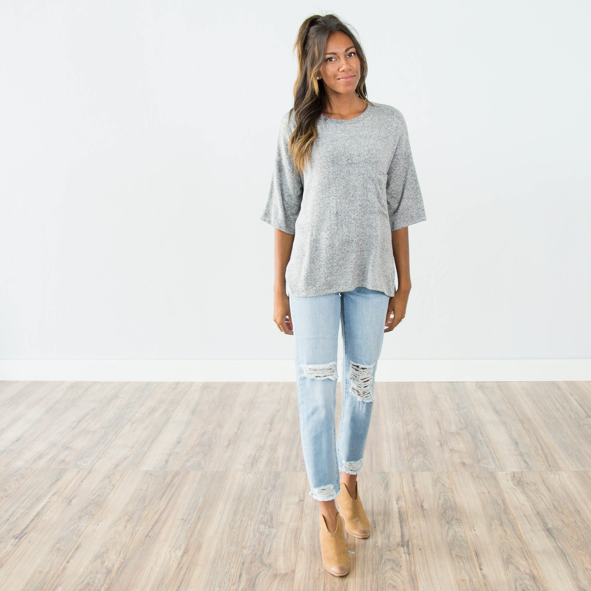 Emory Boyfriend Fit Denim