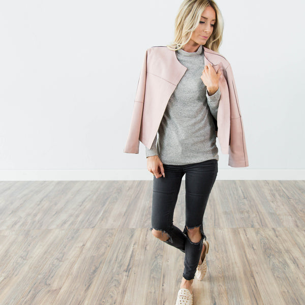 Aspen Jacket in Mauve
