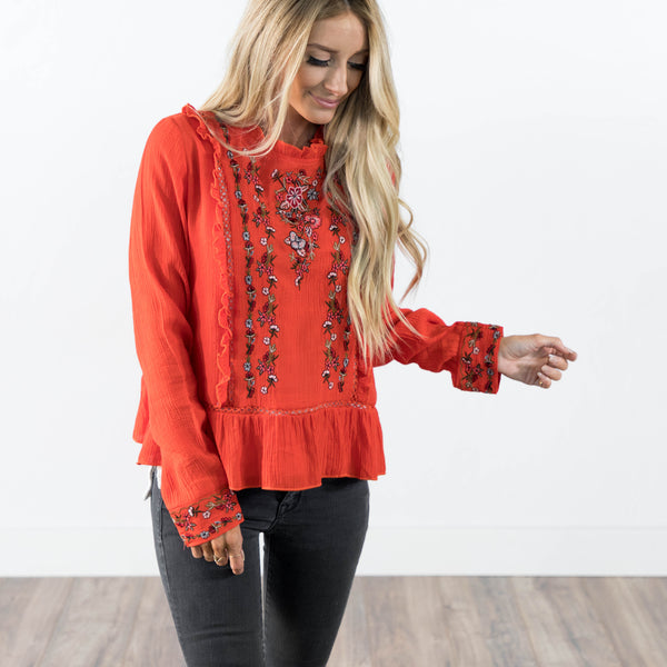 Soul Embroidered Top