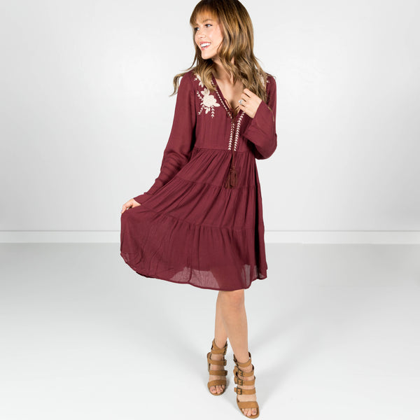 Karlee Embroidered Dress