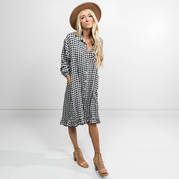 Livvy Checkered Dress