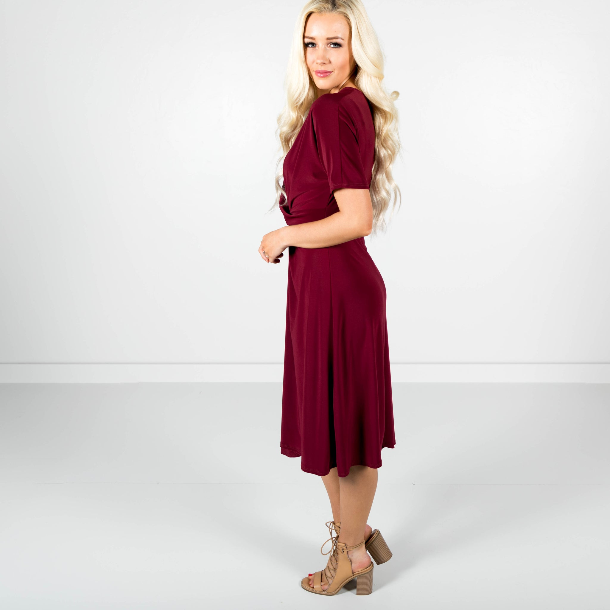 Ella Draped Dress