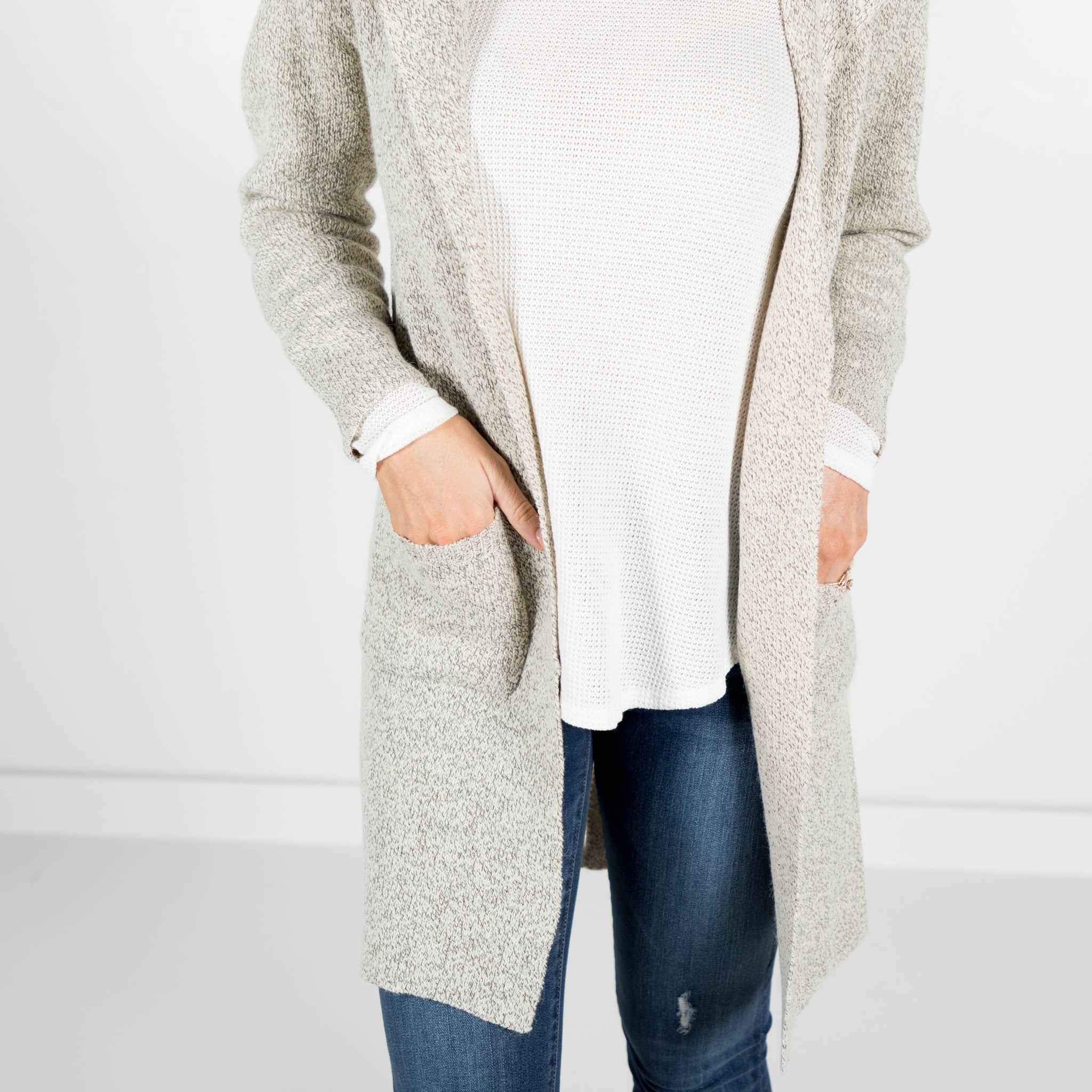 Grey Skies Cardigan