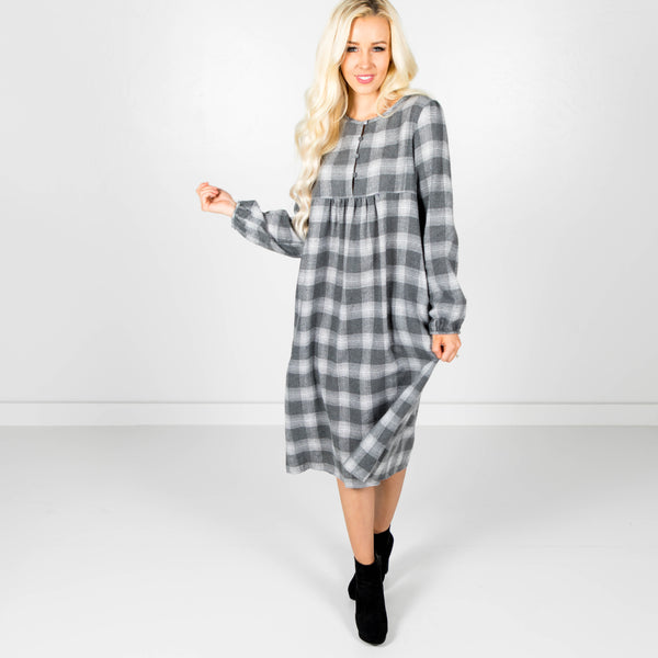 Mason Plaid Dress