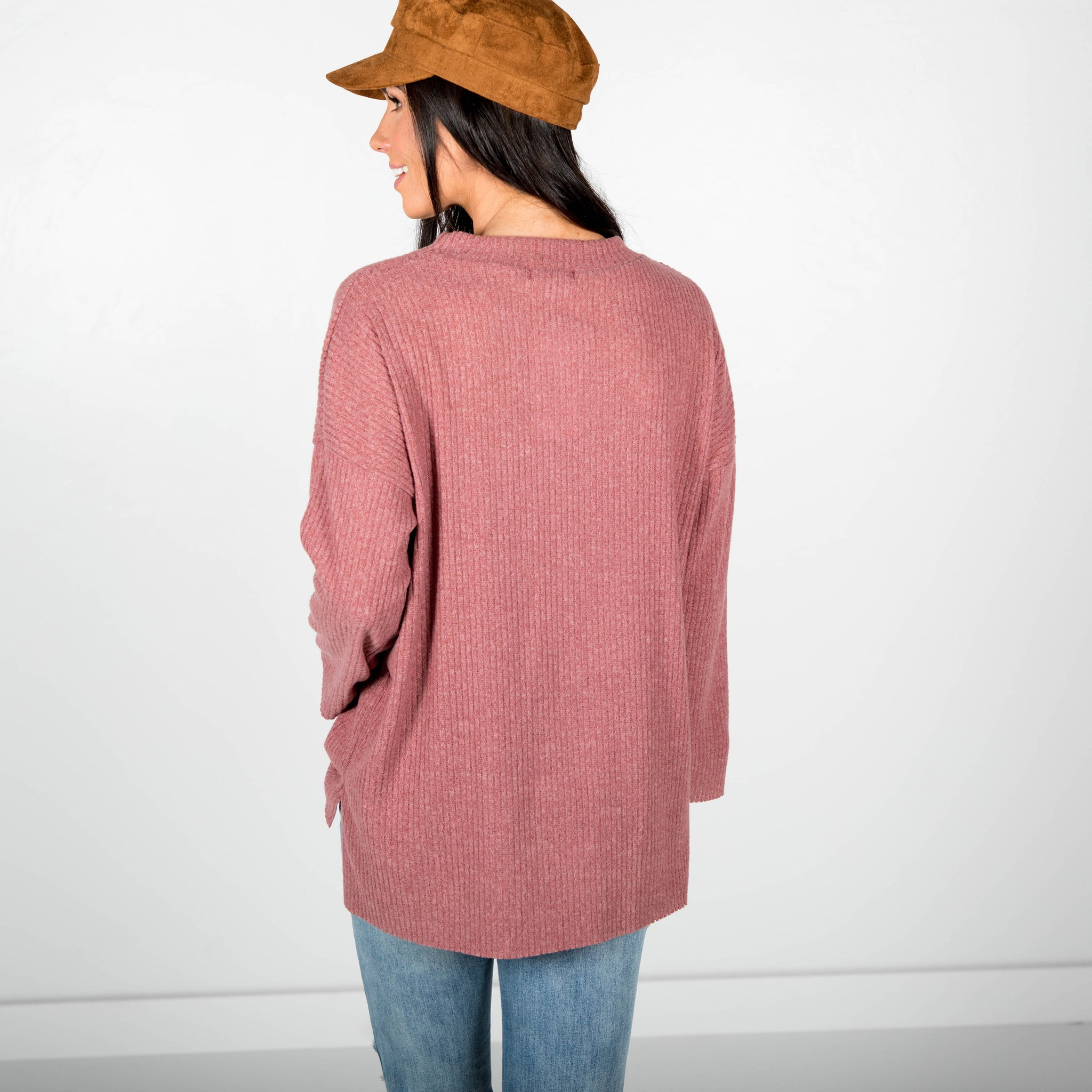 Ramsey Brushed Sweater