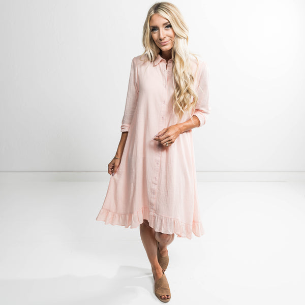 Esme Button Up Dress