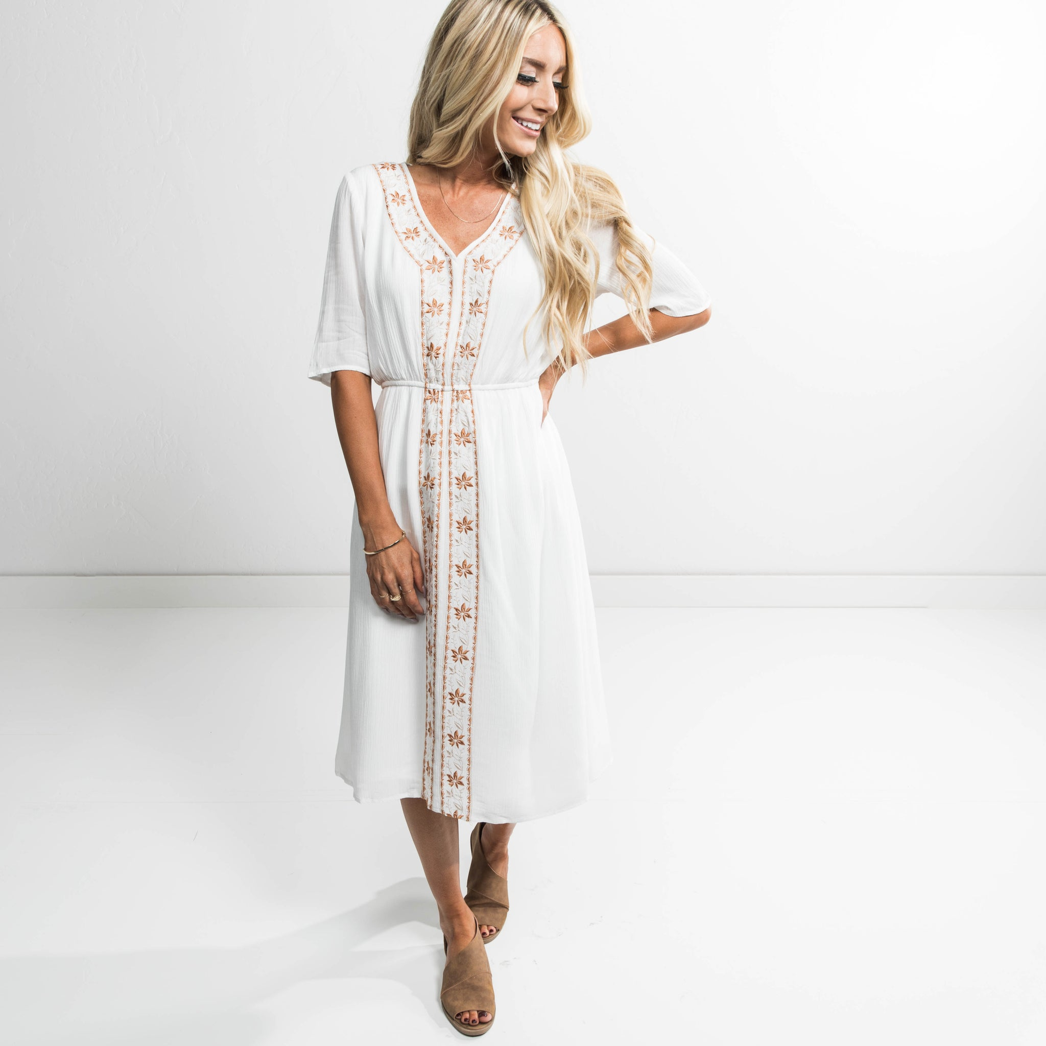 Hayes Cinched Dress