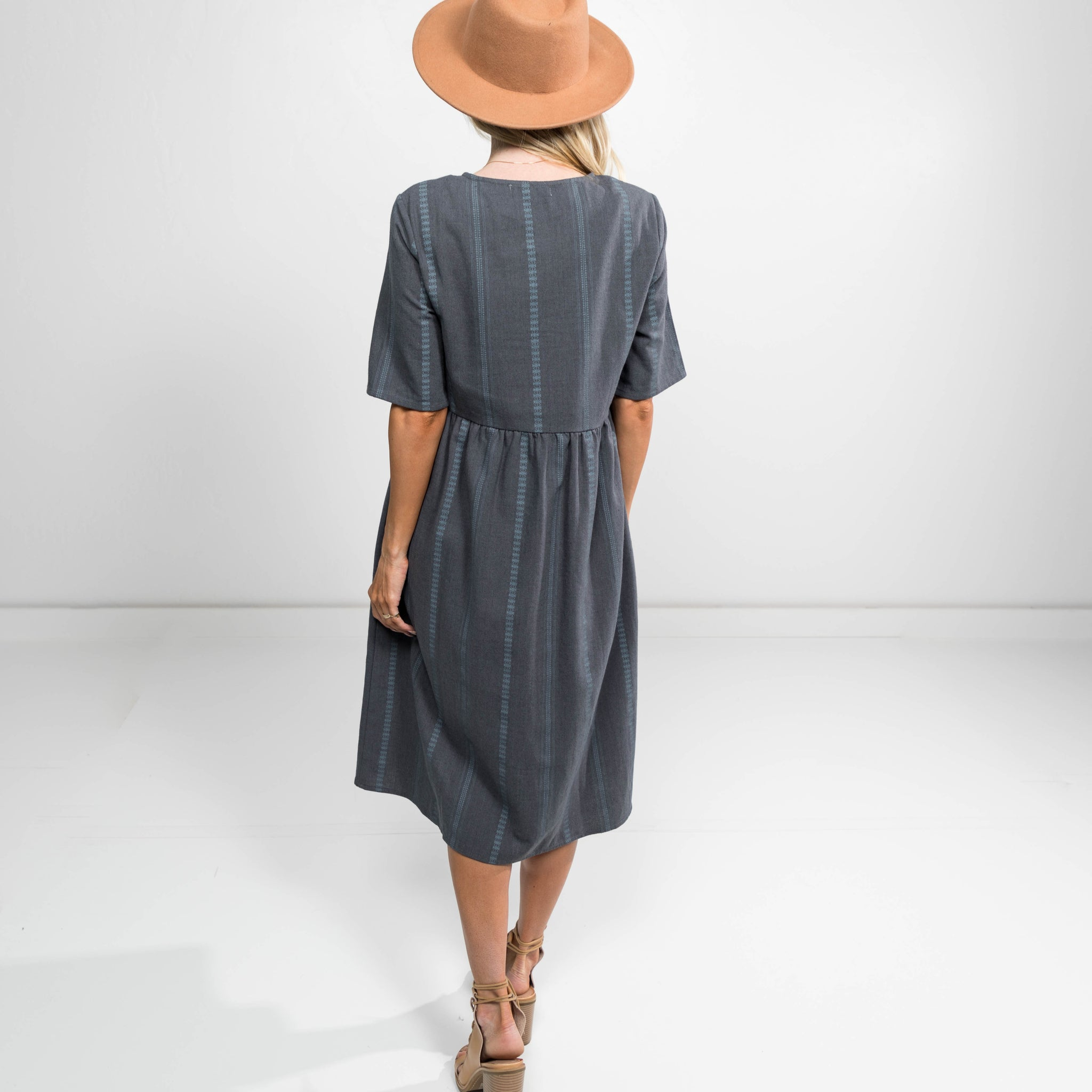 Meghan Dress in Grey