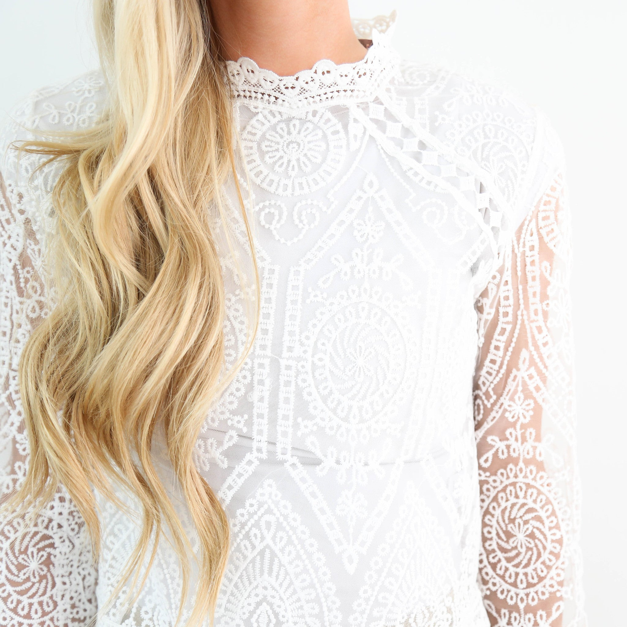 Vienna Lace Top