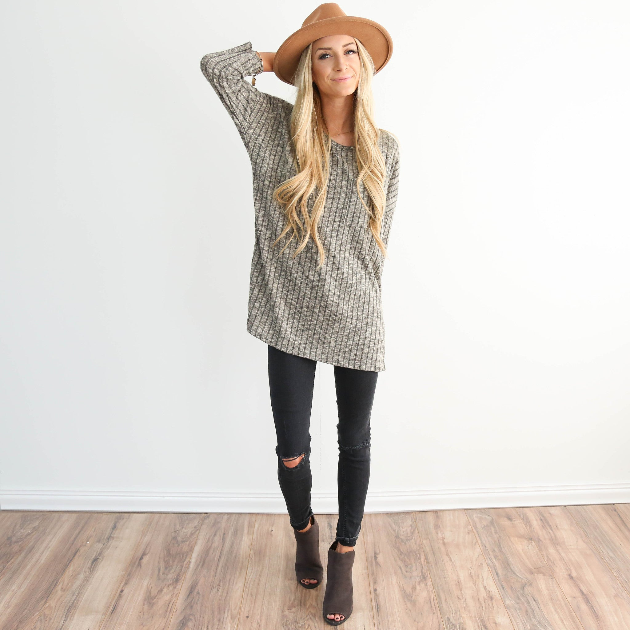 Brush Knit Sweater