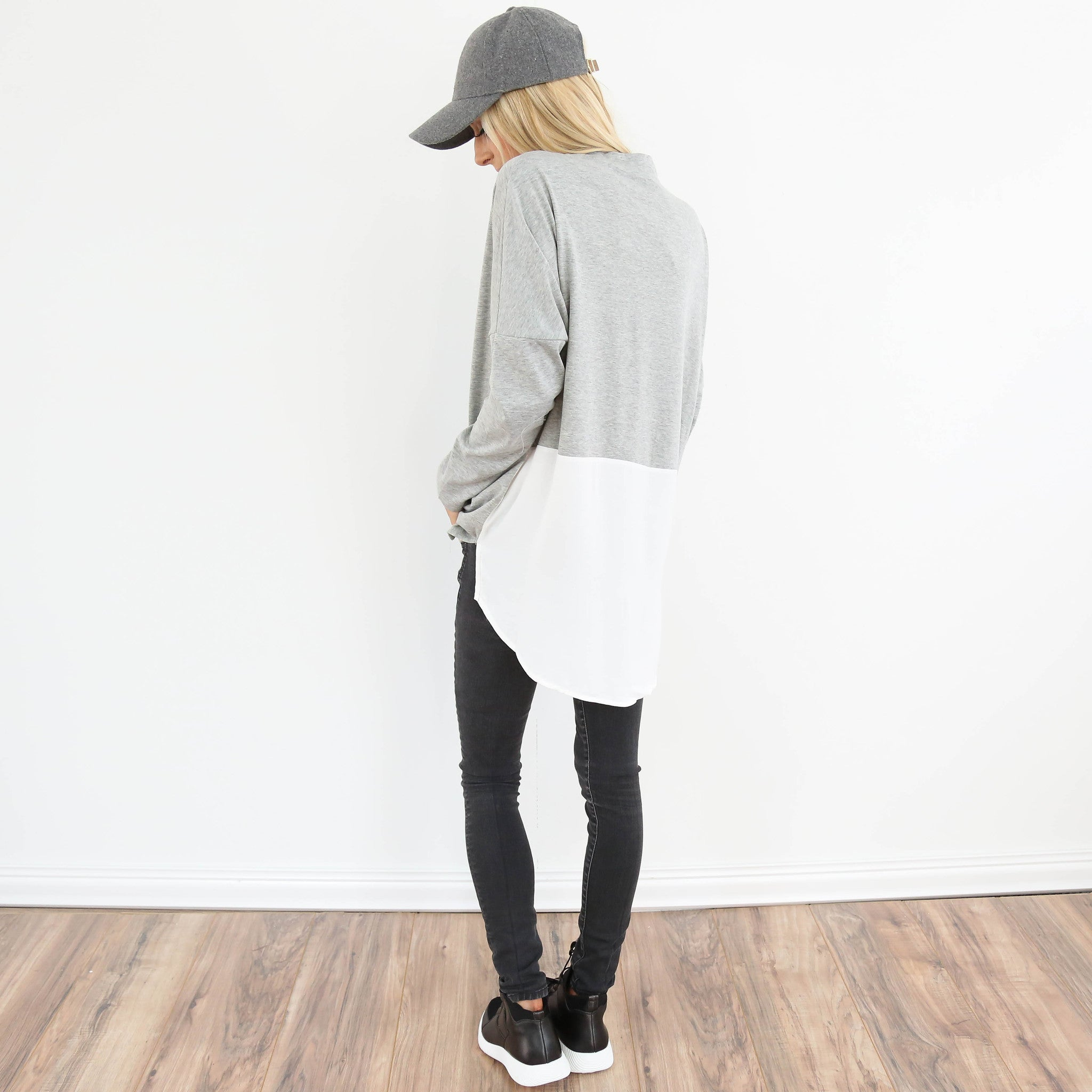 Sabrina High Neck Sweater